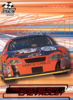 2003 Press Pass Stealth Red #P5 Terry Labonte's Car