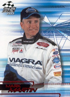 2003 Press Pass Stealth Red #P7 Mark Martin