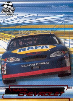 2003 Press Pass Stealth Red #P14 Michael Waltrip's Car