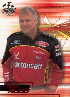 2003 Press Pass Stealth Red #P25 Ricky Rudd