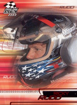 2003 Press Pass Stealth Red #P27 Ricky Rudd
