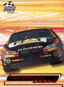 2003 Press Pass Stealth Red #P29 Ward Burton's Car