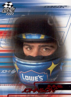 2003 Press Pass Stealth Red #P36 Jimmie Johnson