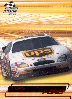 2003 Press Pass Stealth Red #P38 Dale Jarrett's Car