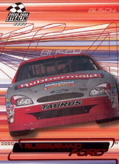 2003 Press Pass Stealth Red #P41 Kurt Busch's Car