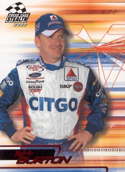 2003 Press Pass Stealth Red #P43 Jeff Burton