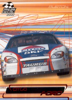 2003 Press Pass Stealth Red #P44 Jeff Burton's Car