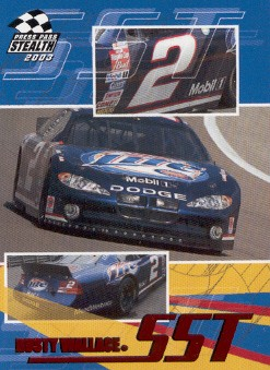2003 Press Pass Stealth Red #P55 Rusty Wallace SST
