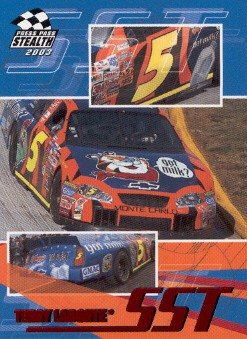 2003 Press Pass Stealth Red #P56 Terry Labonte SST