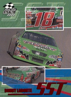 2003 Press Pass Stealth Red #P60 Bobby Labonte SST