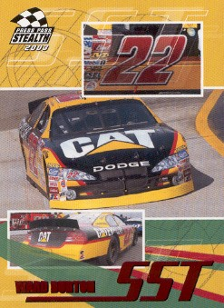 2003 Press Pass Stealth Red #P61 Ward Burton SST