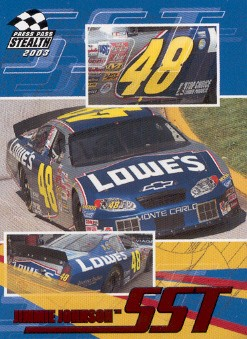 2003 Press Pass Stealth Red #P63 Jimmie Johnson SST