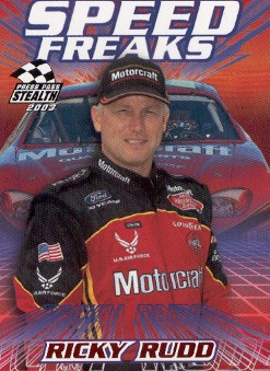 2003 Press Pass Stealth Red #P65 Ricky Rudd SF