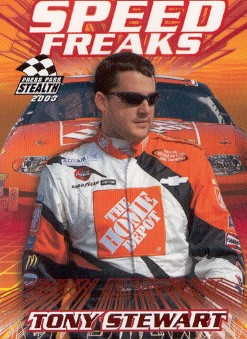 2003 Press Pass Stealth Red #P70 Tony Stewart SF