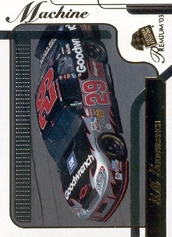 2003 Press Pass Premium #38 Kevin Harvick's Car