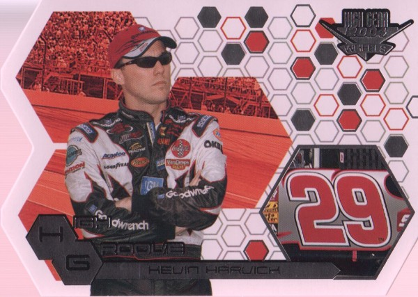2004 Wheels High Gear High Groove #HG8 Kevin Harvick