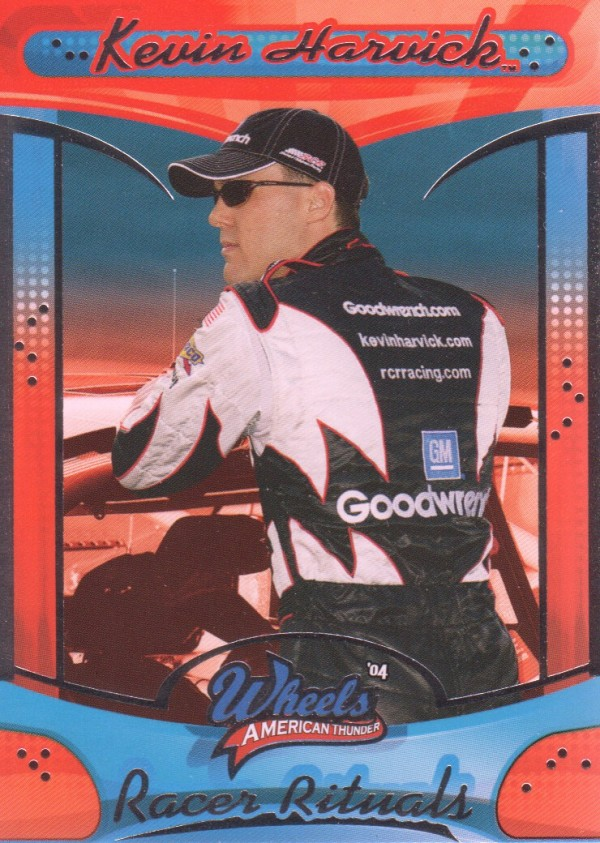 2004 Wheels American Thunder #75 Kevin Harvick RR