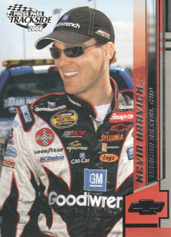 2004 Press Pass Trackside #22 Kevin Harvick