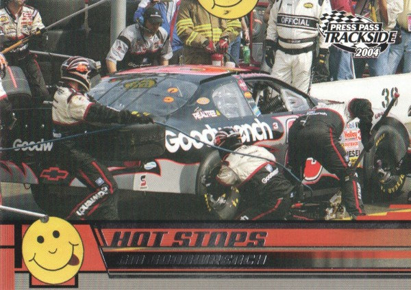 2004 Press Pass Trackside #59 Kevin Harvick's Car HS