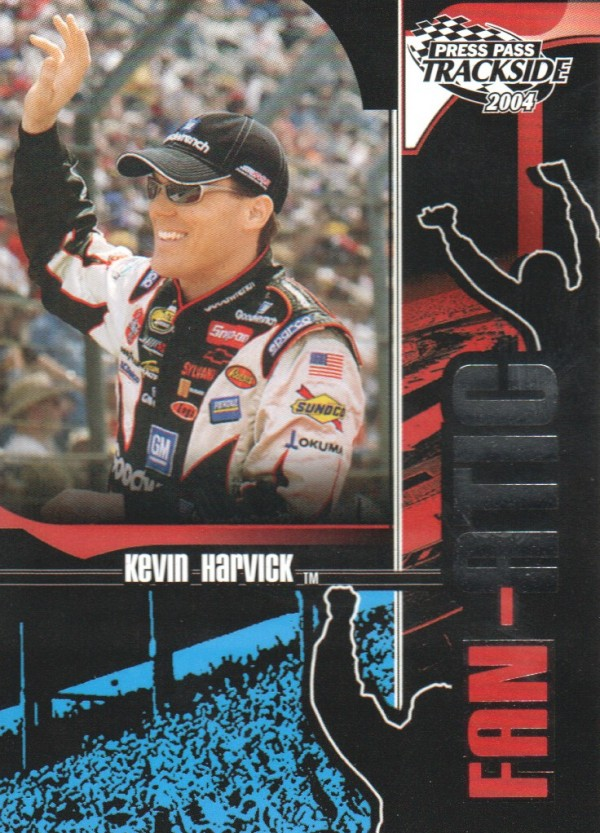 2004 Press Pass Trackside #115 Kevin Harvick F