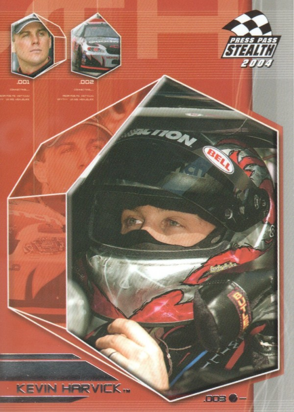2004 Press Pass Stealth #21 Kevin Harvick