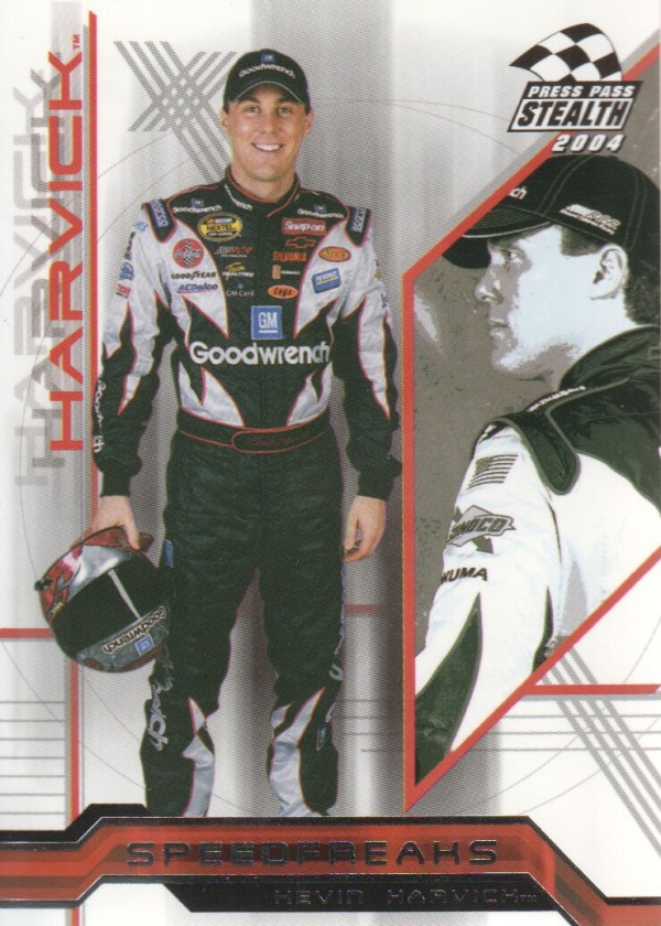 2004 Press Pass Stealth #93 Kevin Harvick SF