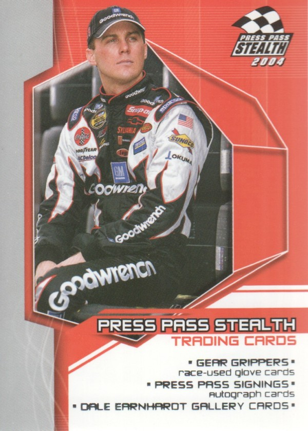 2004 Press Pass Stealth #100 Kevin Harvick CL