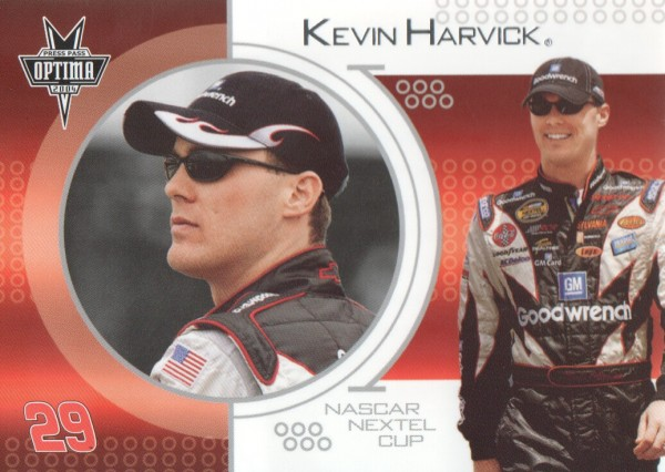 2004 Press Pass Optima #8 Kevin Harvick