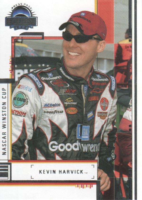 2004 Press Pass Eclipse #5 Kevin Harvick