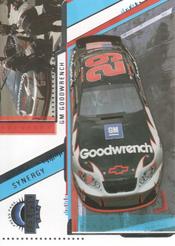 2004 Press Pass Eclipse #35 Kevin Harvick's Car