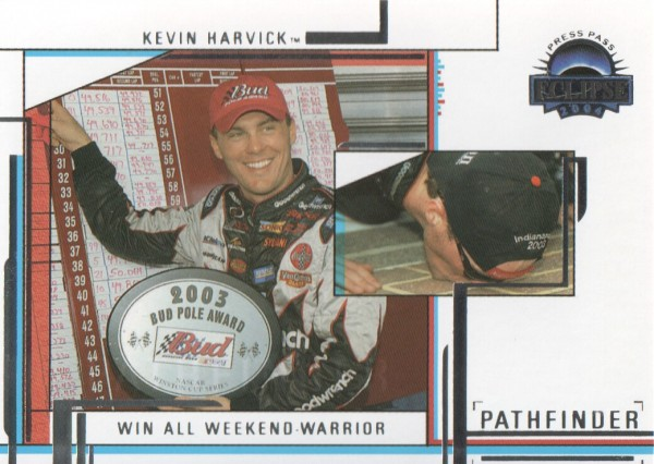 2004 Press Pass Eclipse #59 Kevin Harvick P