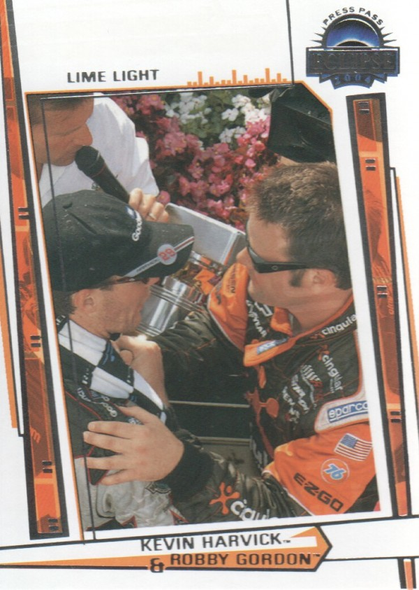 2004 Press Pass Eclipse #82 R.Gordon/K.Harvick LL