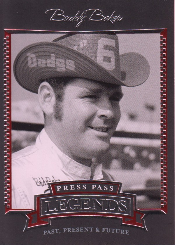 2005 Press Pass Legends #11 Buddy Baker