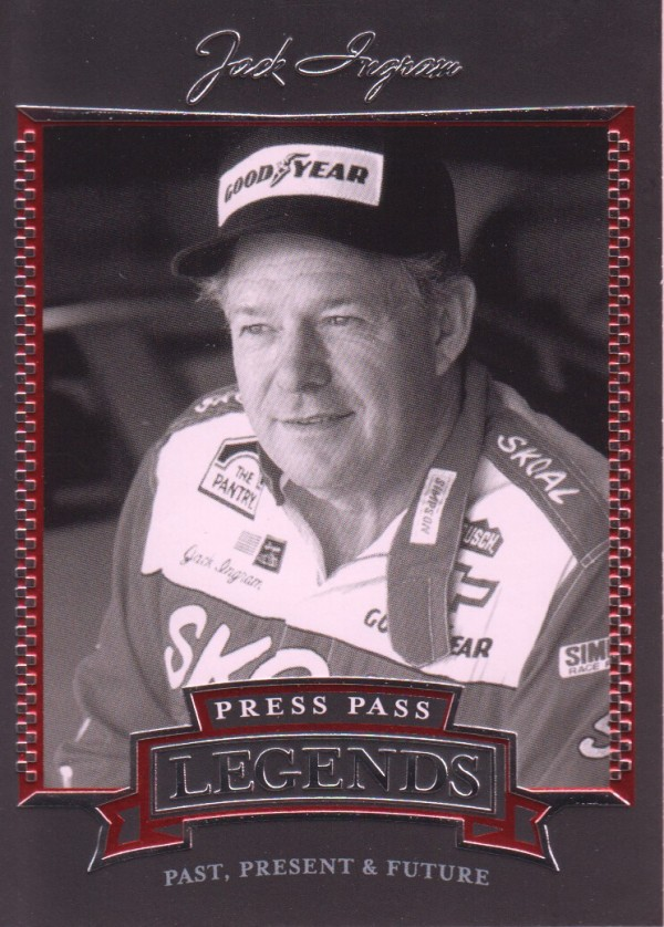 2005 Press Pass Legends #14 Jack Ingram
