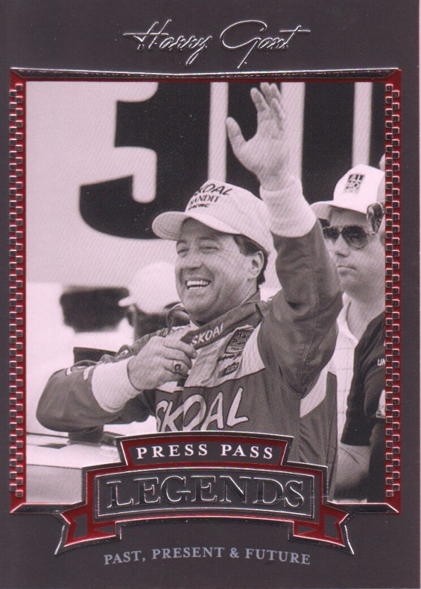 2005 Press Pass Legends #17 Harry Gant