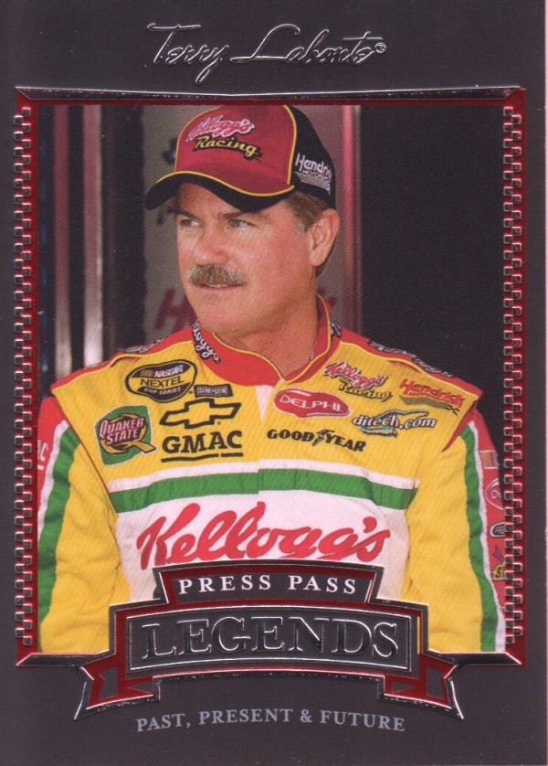 2005 Press Pass Legends #21 Terry Labonte