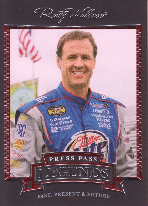 2005 Press Pass Legends #22 Rusty Wallace
