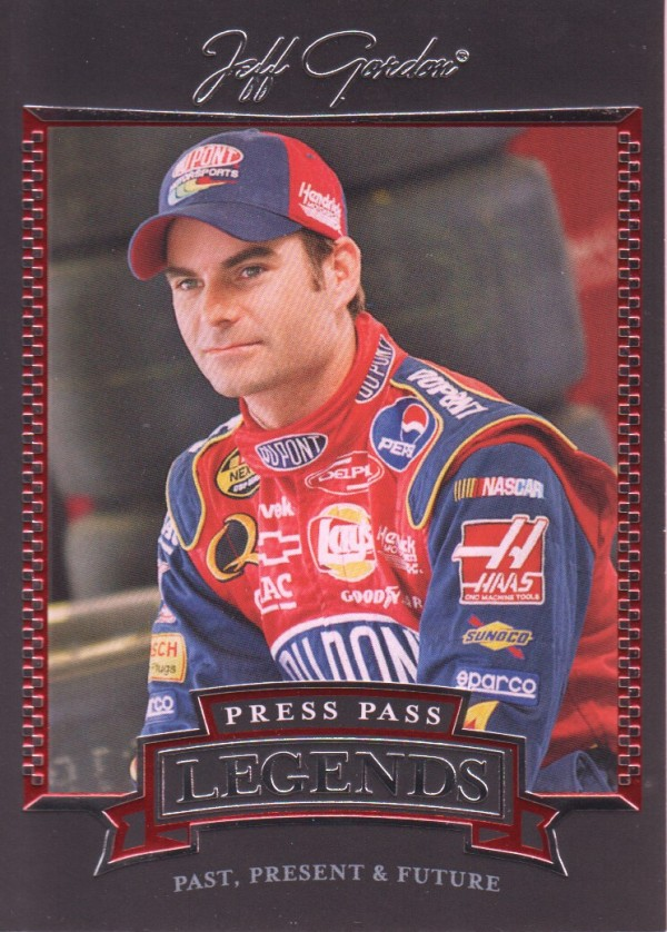 2005 Press Pass Legends #28 Jeff Gordon