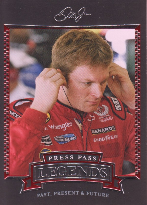 2005 Press Pass Legends #30 Dale Earnhardt Jr.