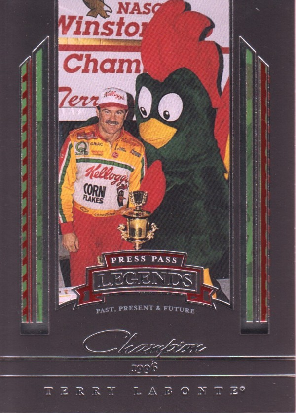 2005 Press Pass Legends #41 Terry Labonte C