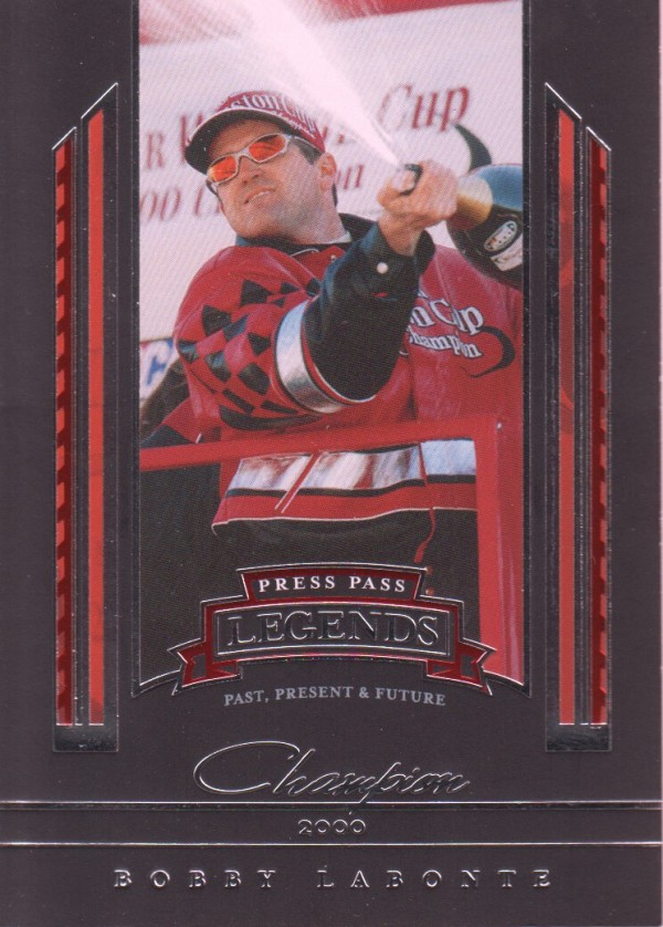 2005 Press Pass Legends #42 Bobby Labonte C