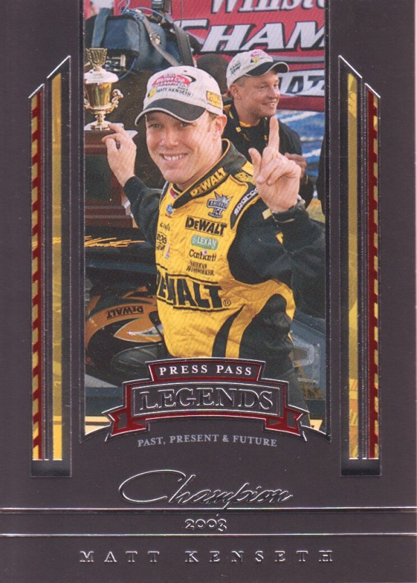 2005 Press Pass Legends #45 Matt Kenseth C