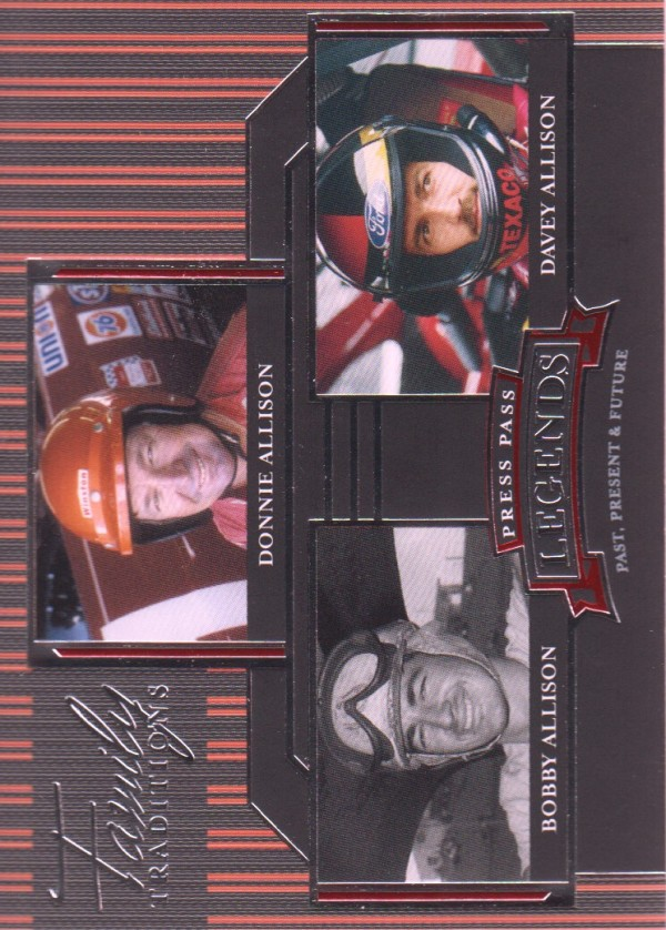 2005 Press Pass Legends #48 Do.Allison/B.Allison/D.Allison FT