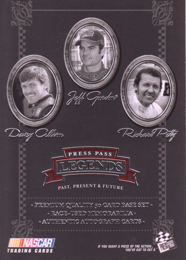 2005 Press Pass Legends #50 D.Allison/Gordon/Petty CL
