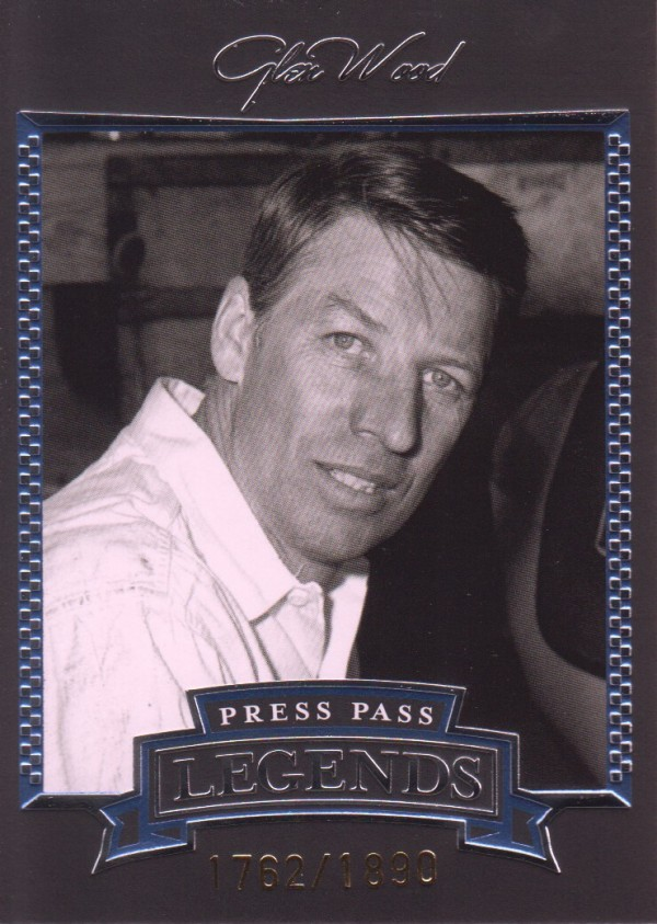 2005 Press Pass Legends Blue #5B Glen Wood