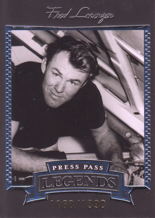 2005 Press Pass Legends Blue #7B Fred Lorenzen