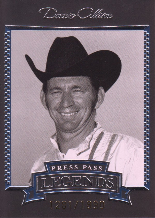 2005 Press Pass Legends Blue #16B Donnie Allison