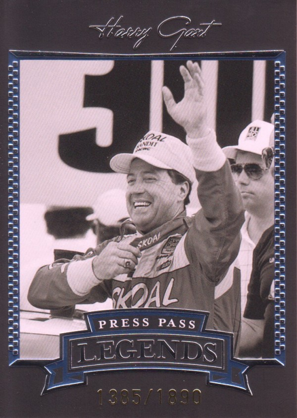 2005 Press Pass Legends Blue #17B Harry Gant