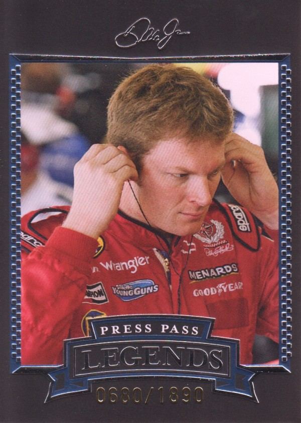 2005 Press Pass Legends Blue #30B Dale Earnhardt Jr.