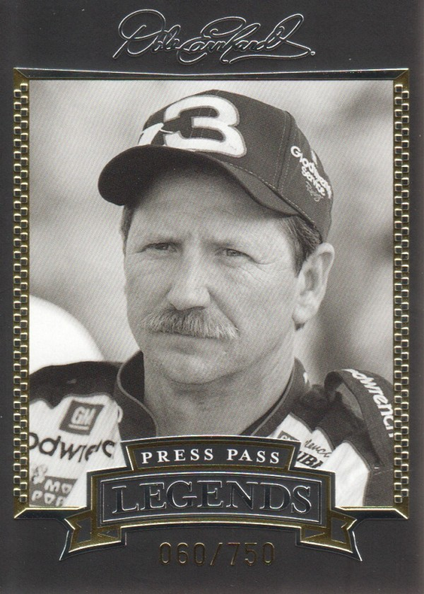 2005 Press Pass Legends Gold #19G Dale Earnhardt